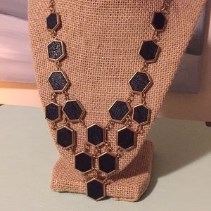 Vegan leather necklace